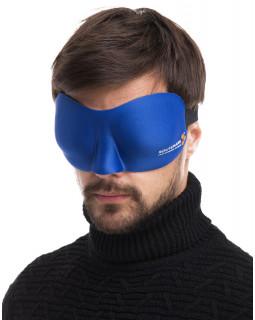 Маска для сна 3D Hawk синяя