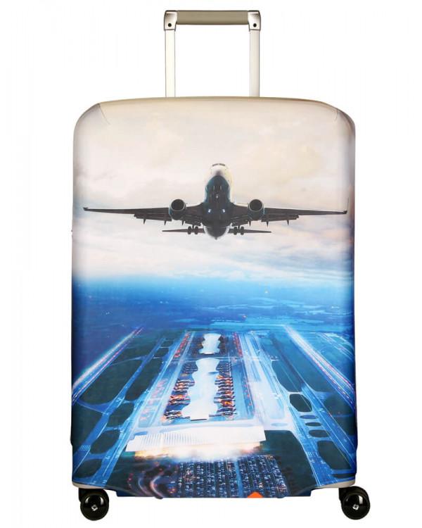 Чехол для чемодана большой Routemark SP240 Plane L/XL