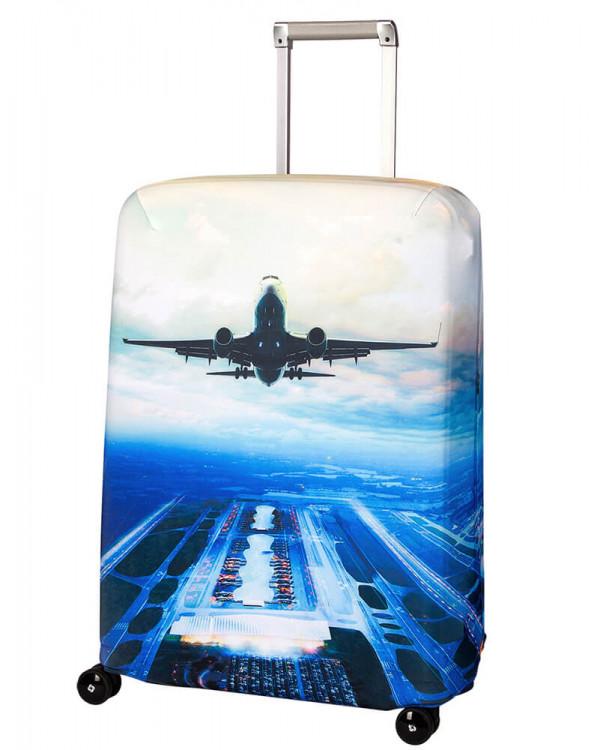 Чехол для чемодана малый Routemark SP240 Plane M/L
