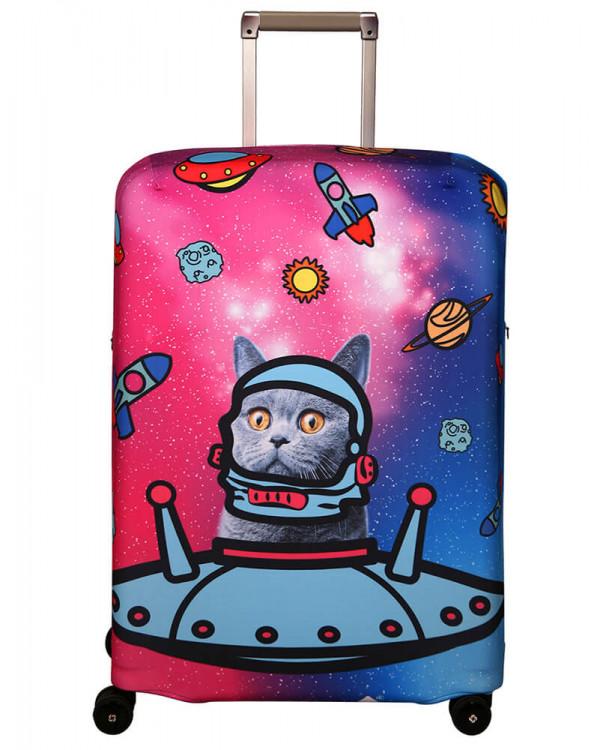 Чехол для чемодана малый Routemark SP180 Ракета M/L