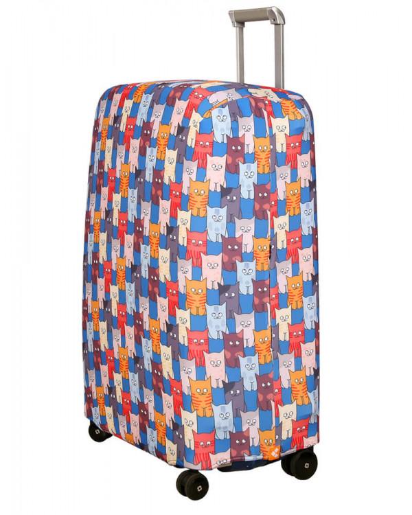 Чехол для чемодана малый Routemark SP180 Шкодастрофа M/L