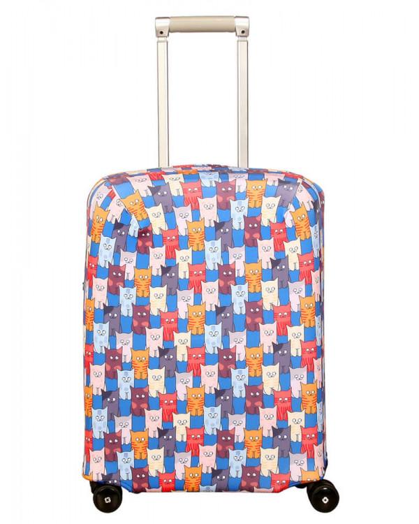 Чехол для чемодана малый Routemark SP180 Шкодастрофа S