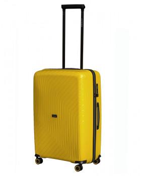 Чемодан Madrid желтый (M)
