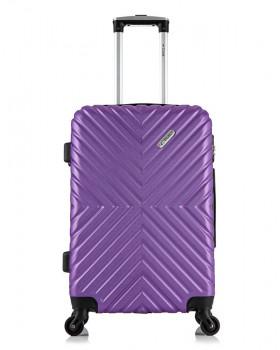 Чемодан New-Delhi Фиолетовый (M)