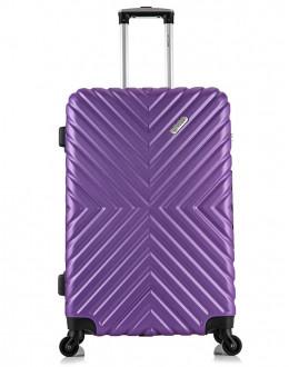 Чемодан New-Delhi Фиолетовый (L)