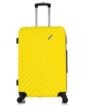 Чемодан New-Delhi Желтый (L)