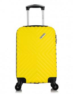 Чемодан New-Delhi Желтый (S)