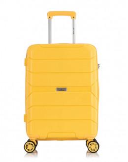 Чемодан Singapore желтый (S)