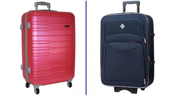 Какой чемодан выбрать: из ткани или из пластика?